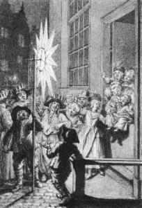 Driekoningen sterrezangers 1730