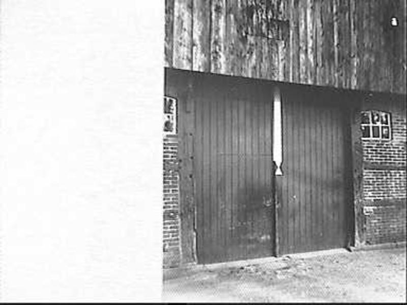 Deeldeuren met stiepelteken