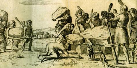 Hunebedbouwers-Annales_Drenthia_Picardt_1660