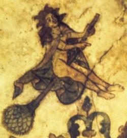 hexen mural schleswig church ca1450
