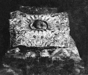Fragment van de  Cintamani steen