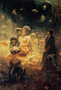 Ilya Repin - Sadko 1876