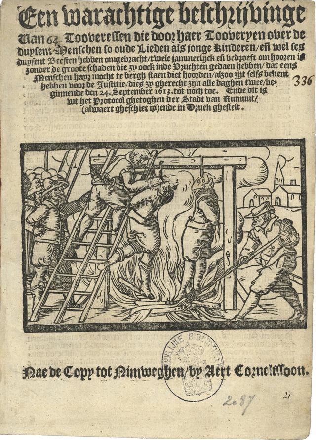 Voorblad van het Roermondse pamflet