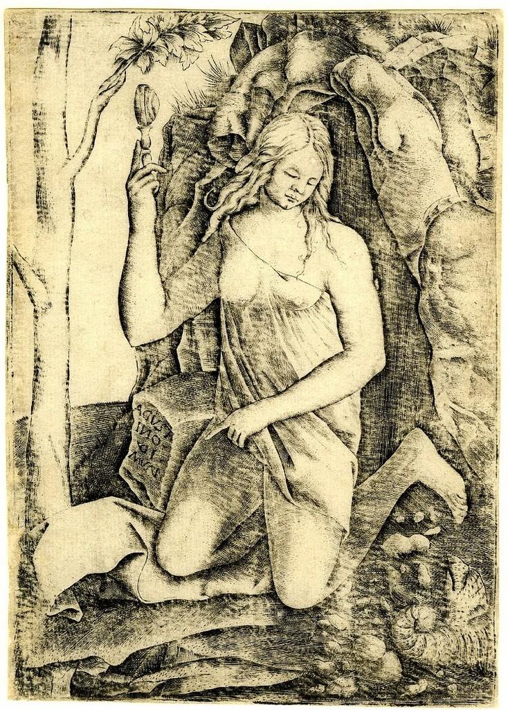 la strega agostino veneziano ca1515