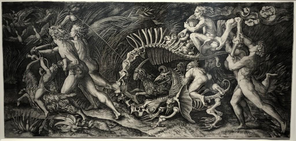 lo stregozzo marcantonio raimondi 1530