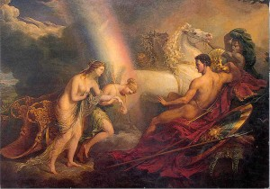 sir-george-hayter_venus_supported_by_iris_meeting-with-mars_1820